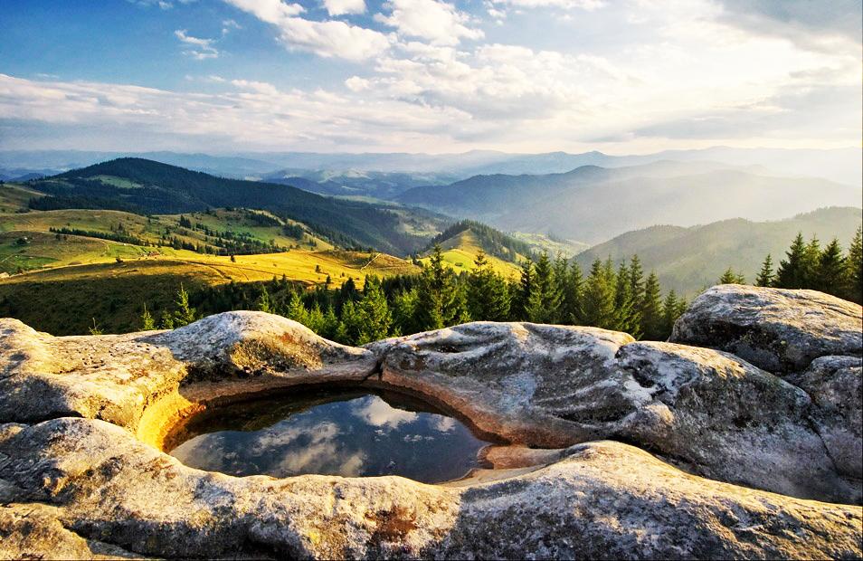Писаный камень – таинственное место силы.Вокруг Света. Украина
