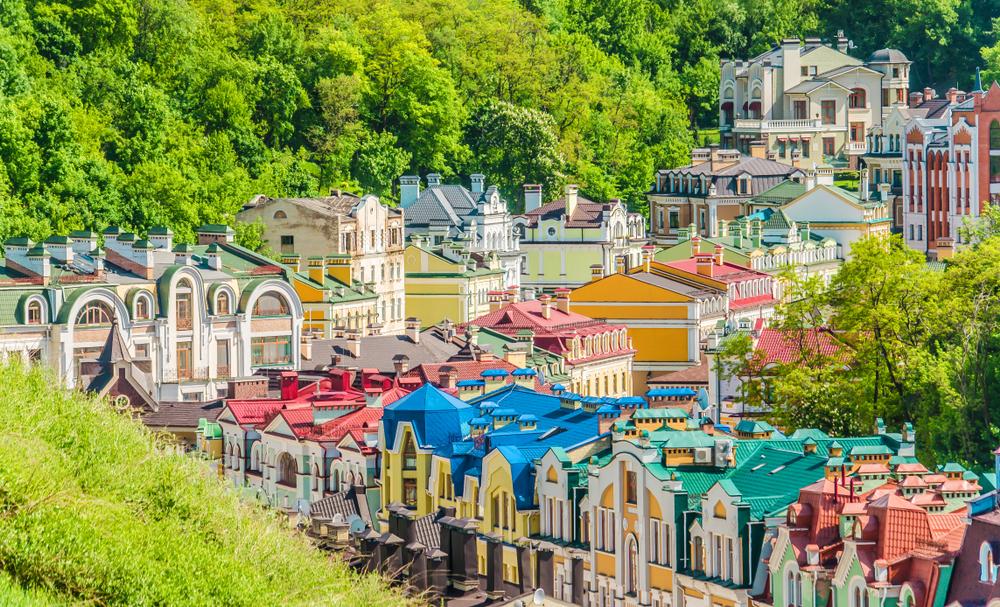 фото Киева Воздвиженка