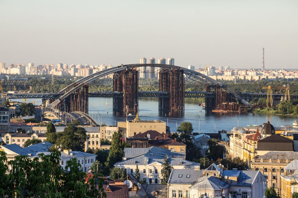 фото Киева мост