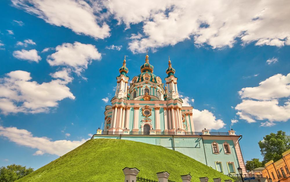 фото Киева Андреевская церковь