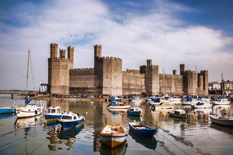 В Уэльсе так много замков, что гости, приглашенные на свадьбу, по ошибке пришли в другой.Вокруг Света. Украина