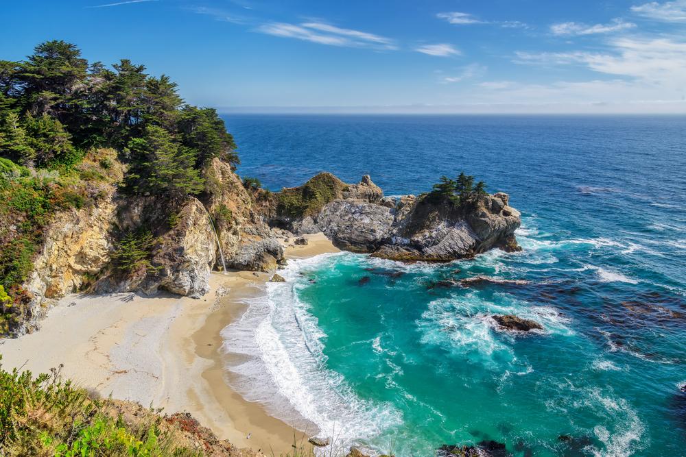 К концу нынешнего века пляжи Калифорнии уйдут под воду