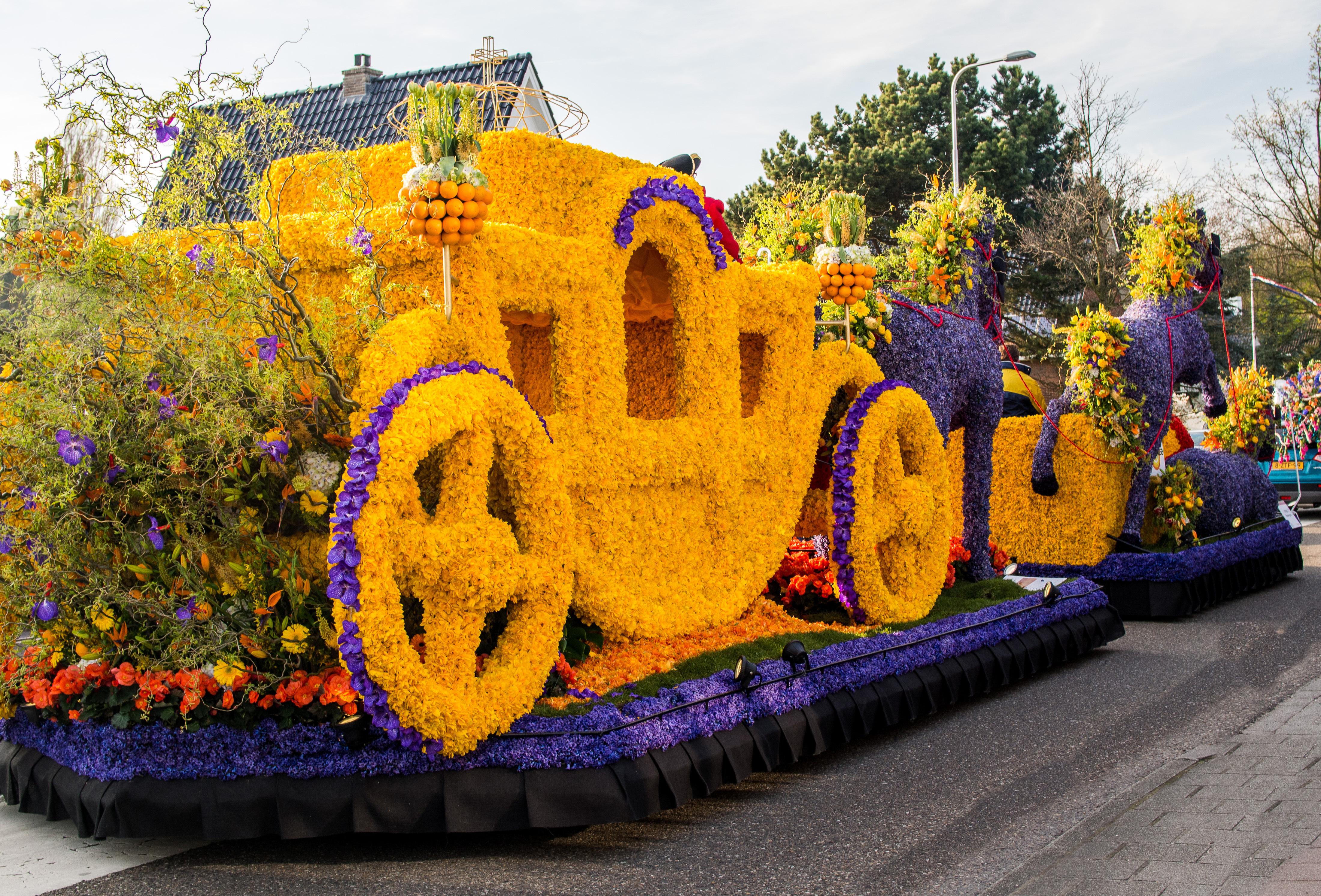 В Нидерландах начался самый зрелищный в мире Парад Цветов.Вокруг Света. Украина
