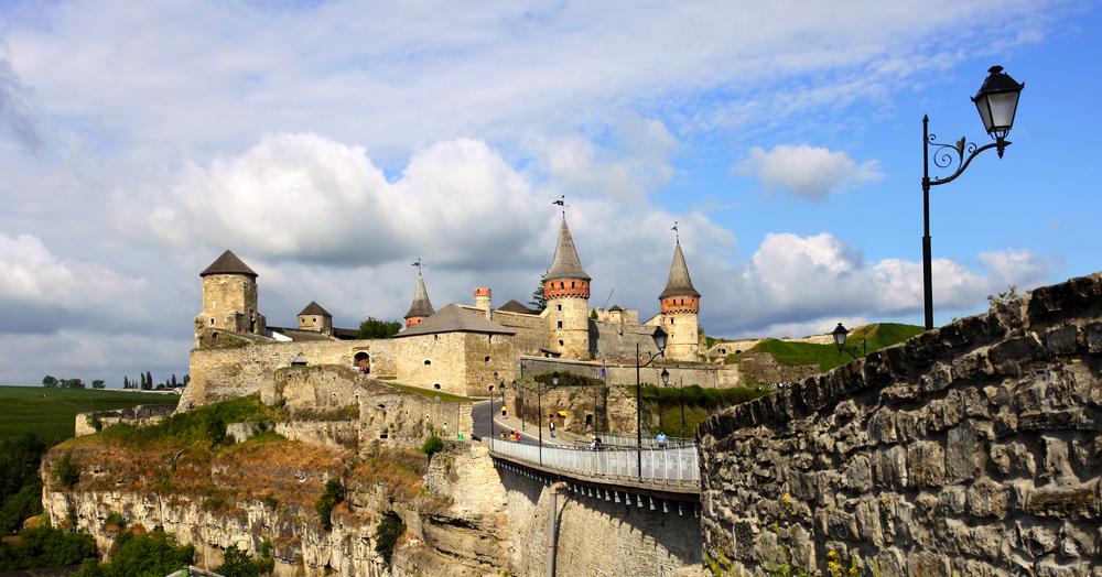Каменец-Подольский крепость фото