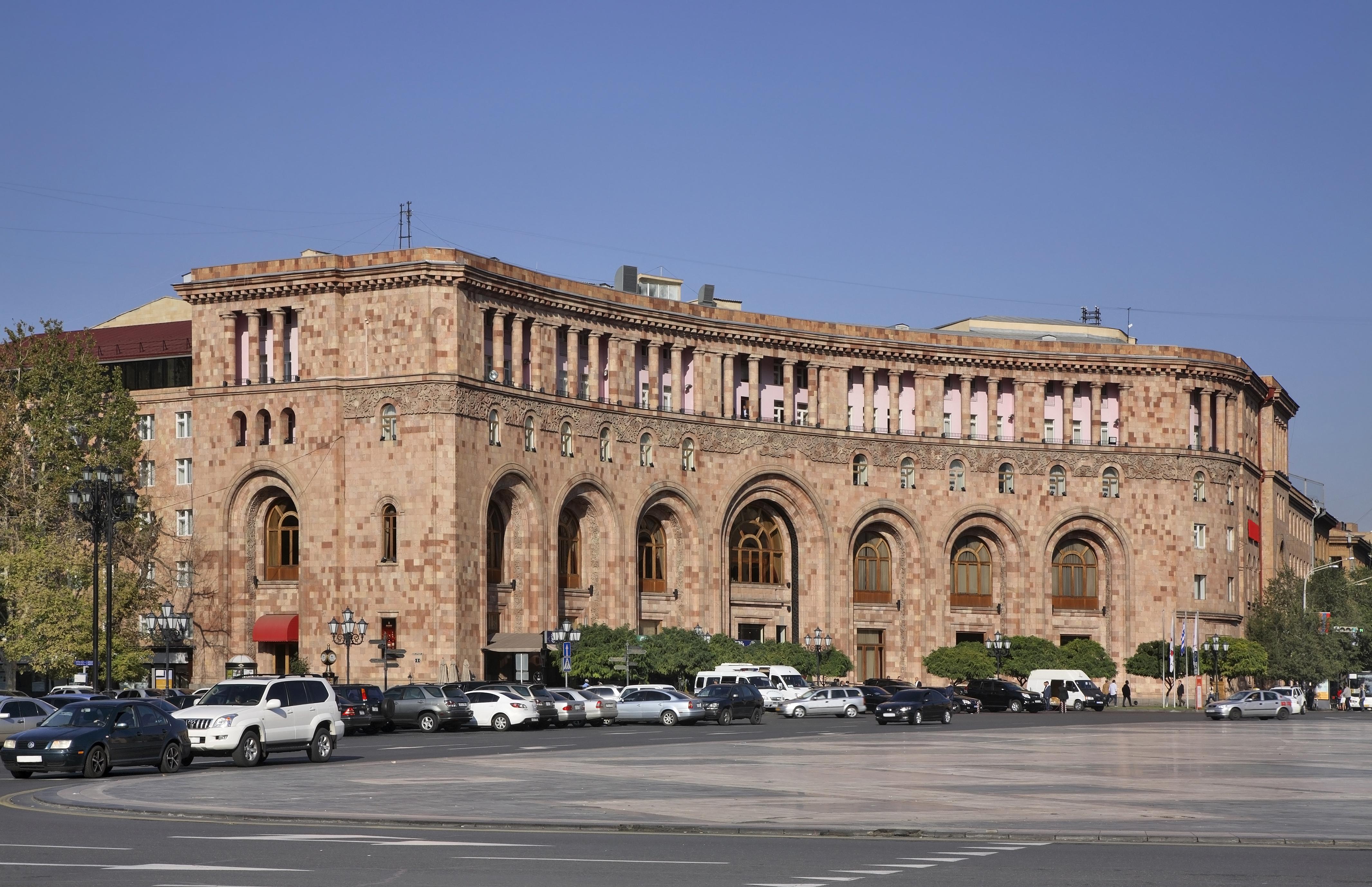 Ереван: гармония между прошлым и настоящим