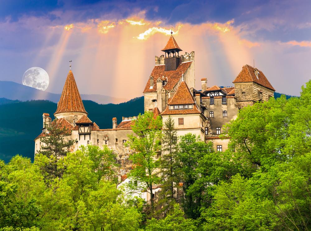 Необычное предложение: Пасха в замке Дракулы