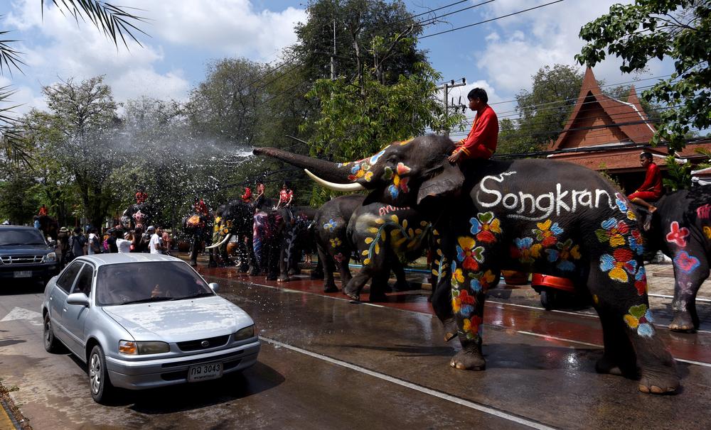 В Таиланде празднуют Новый год