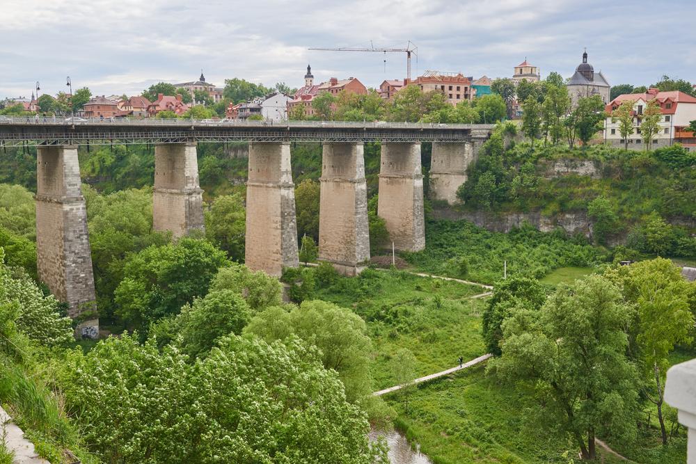 Каменец-Подольский фото мост