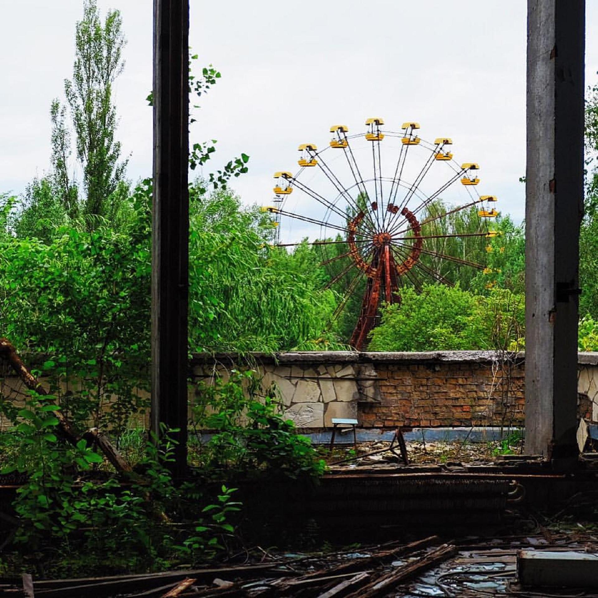Тур внутрь Чернобыльской атомной электростанции