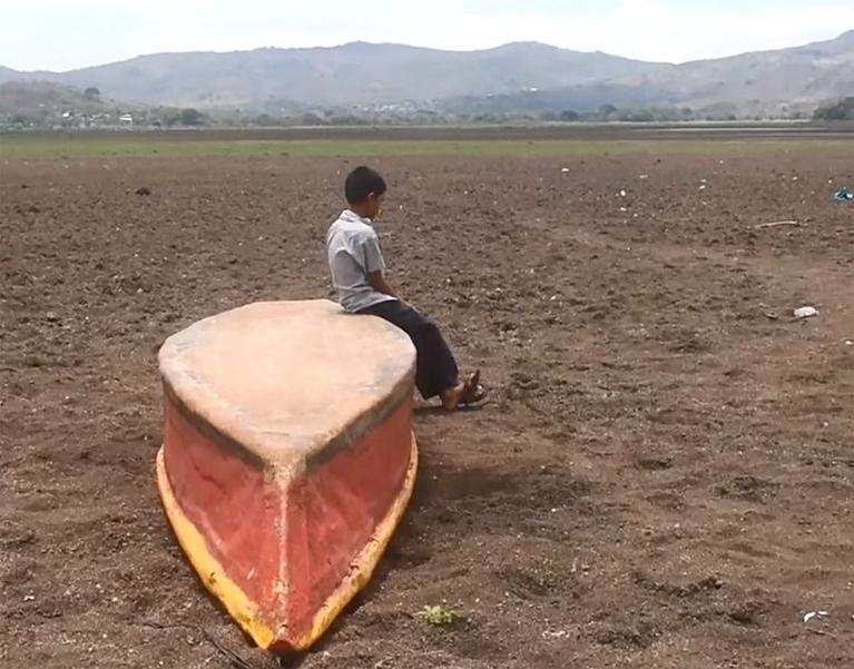 В Гватемале исчезло озеро, кормившее несколько деревень