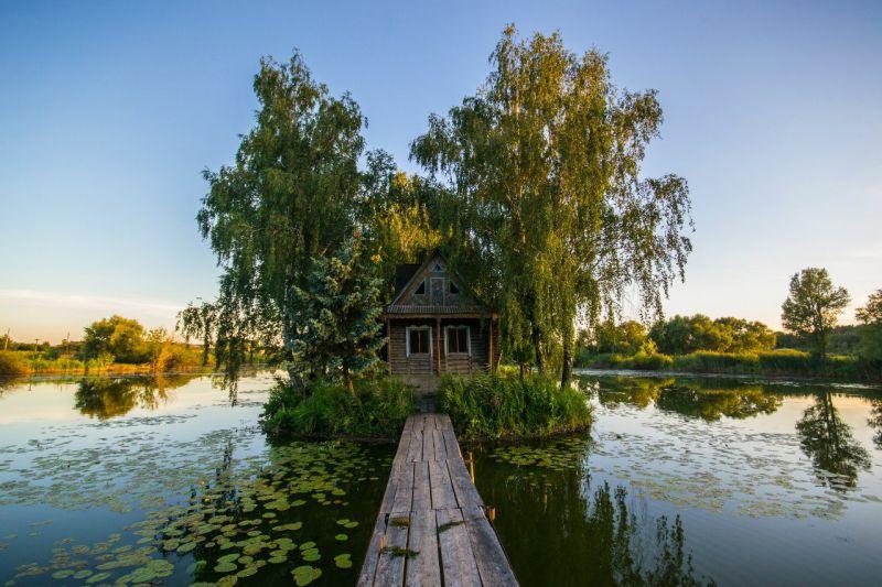 Романтичный Остров любви в Житомирской области