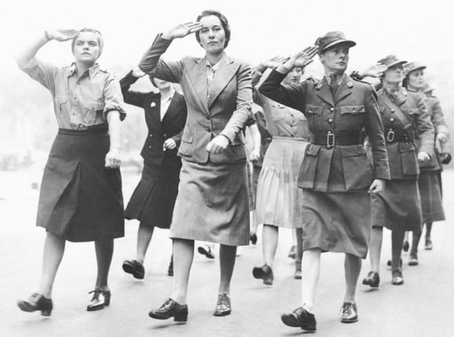 10 интересных снимков женщин во время Второй мировой войны