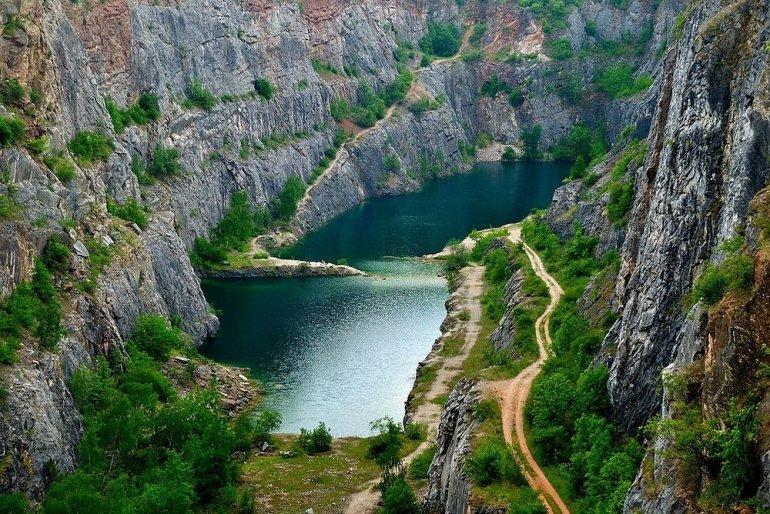 Велка Америка: восхитительный чешский Гранд-Каньон