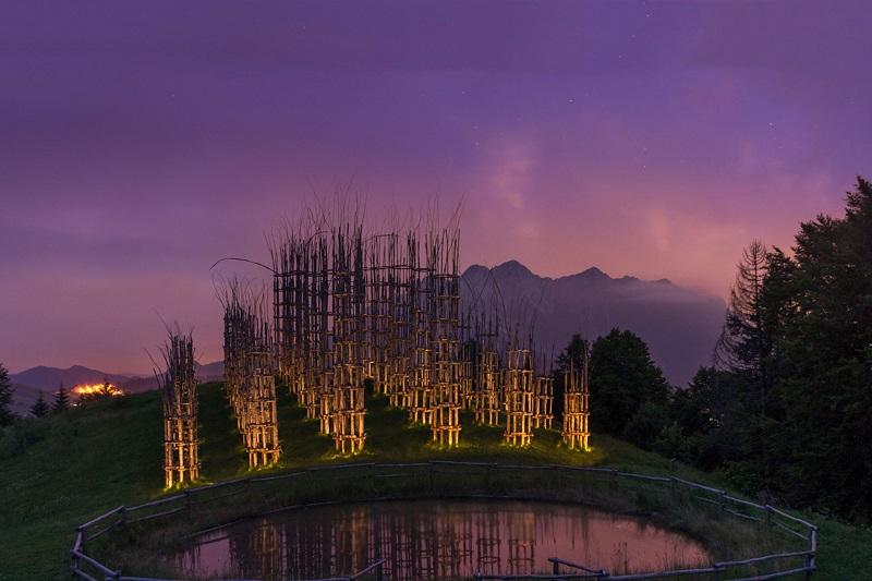 «Живой собор» - уникальный храм из растущих деревьев