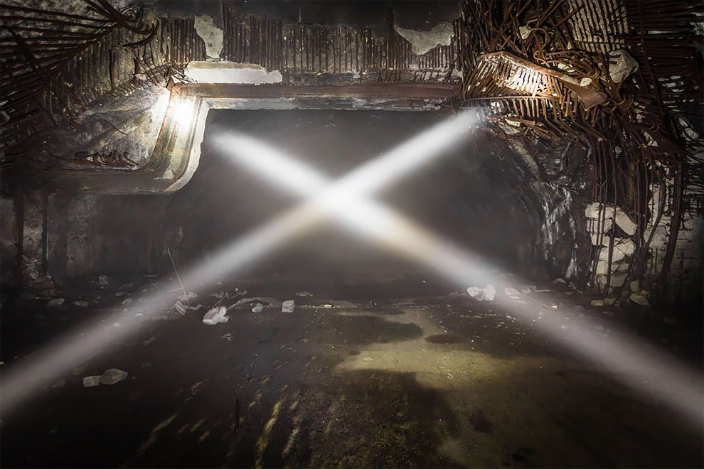 Как выглядит самая большая заброшенная подземная военная авиабаза в Европе