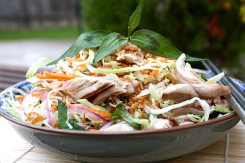 Рецепт вьетнамского салата с курицей (гой га)
