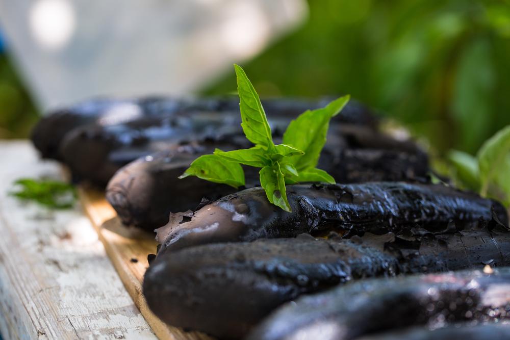 Рецепт салата из баклажанов в ливанском стиле