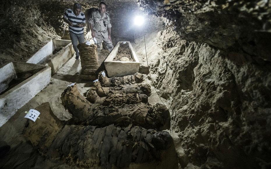 17 новых мумий – еще одна причина посетить Египет