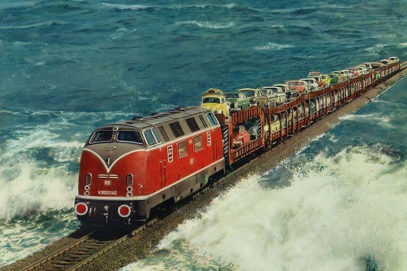 7 удивительных мест, через которые проходят поезда