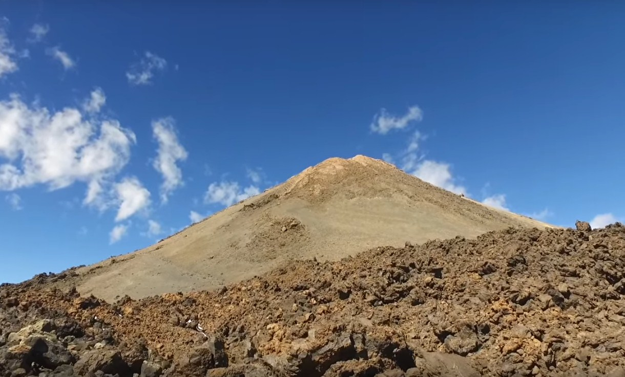 Вулкан Тейде. Канарские Острова