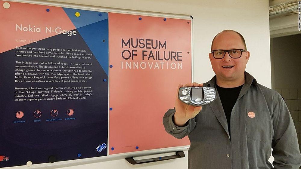Музей неудач в Швеции: на 1 успех приходится 90 провалов