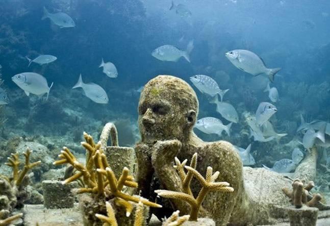 Музей искусства под водой