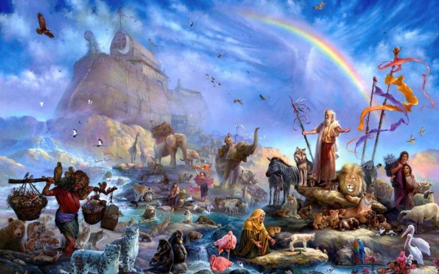 Ученые обнаружили настоящий Ноев ковчег.Вокруг Света. Украина