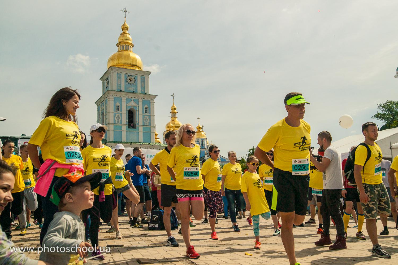 25-й ювілейний «Пробіг під каштанами» зібрав більше 10 000 людей заради щасливого майбутнього дітей