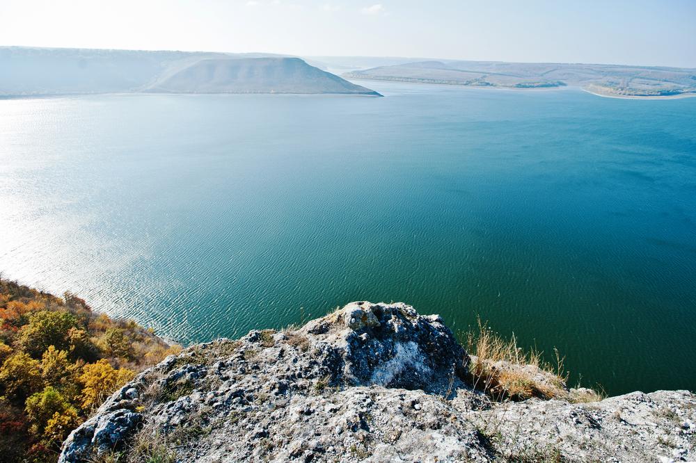 Подольские Товтры – холмы, возникшие на дне древнего моря