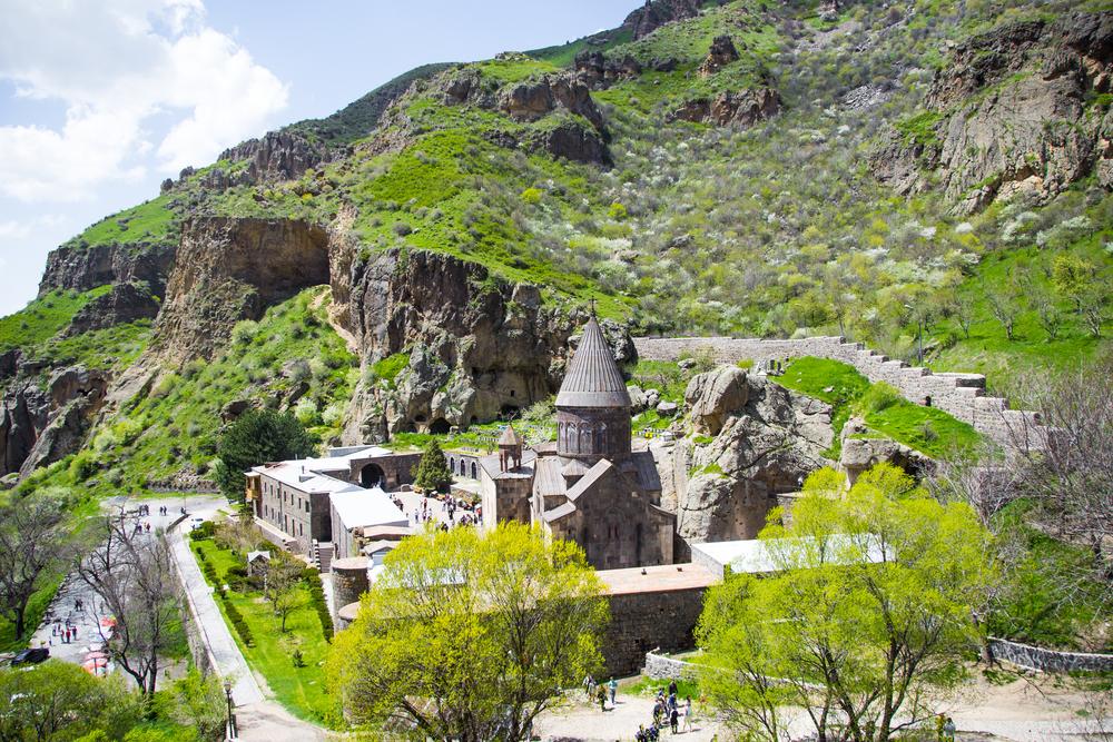 Гегард – таинственный скальный монастырь в Армении