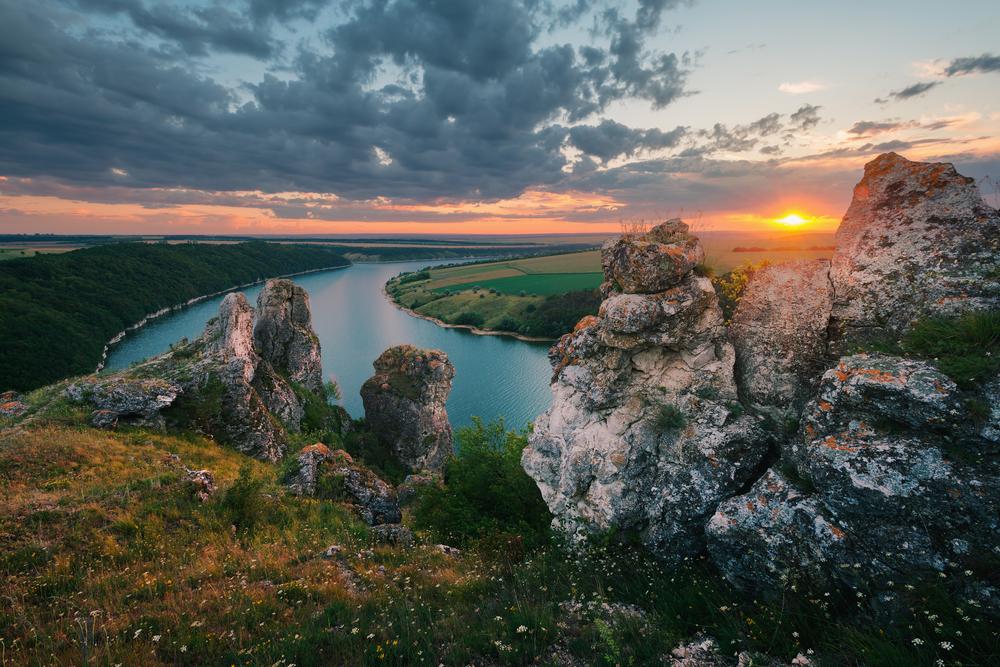 Семь невероятно красивых каньонов Украины