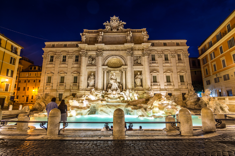 «Маршрут наслаждения» не позволит туристам останавливаться у римского фонтана Треви