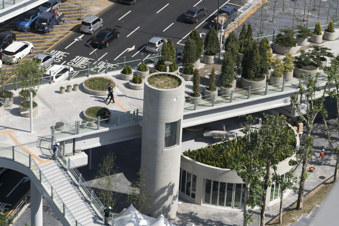 Заброшенное шоссе в Сеуле превратили в райский уголок