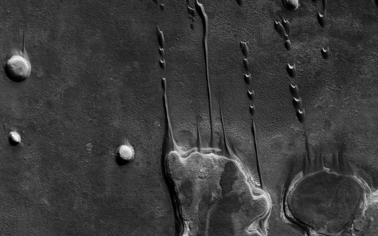 Текстура Марса
