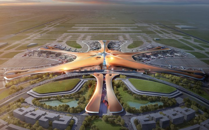 В Китае построят аэропорт, равный 7 «Борисполям»