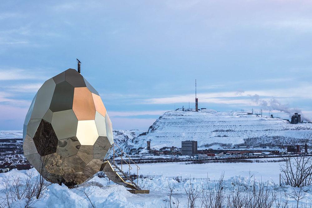 Зачем в Лапландии построили «Солнечное яйцо»