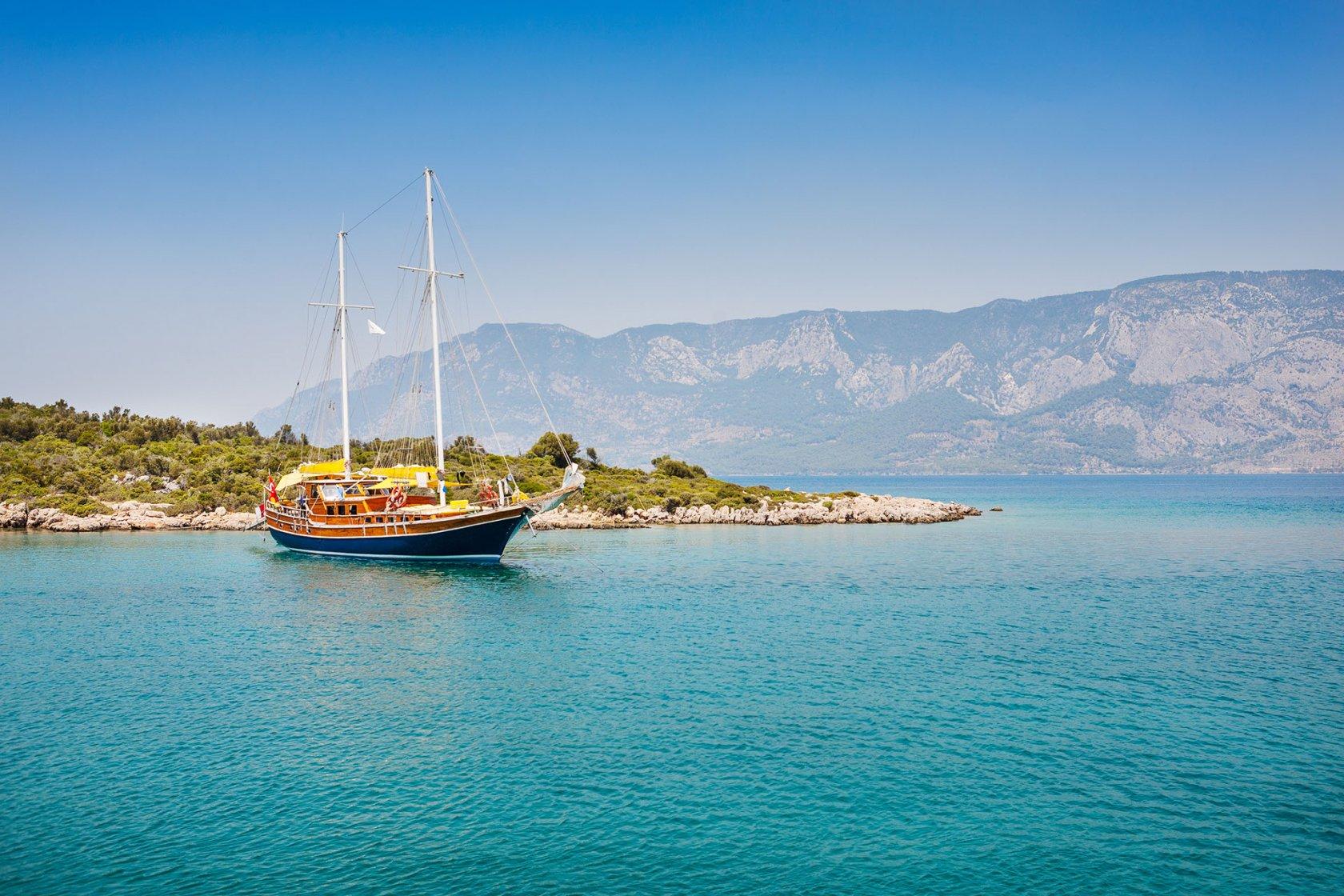 5 оттенков Турции: побережье Эгейского моря