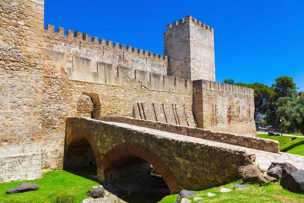 Замок Святого Георгия в Лиссабоне: резиденция древних монархов