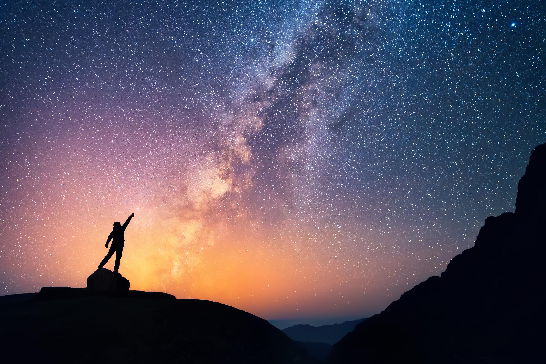 Наша «одинокая» галактика находится внутри гигантской космической пустыни