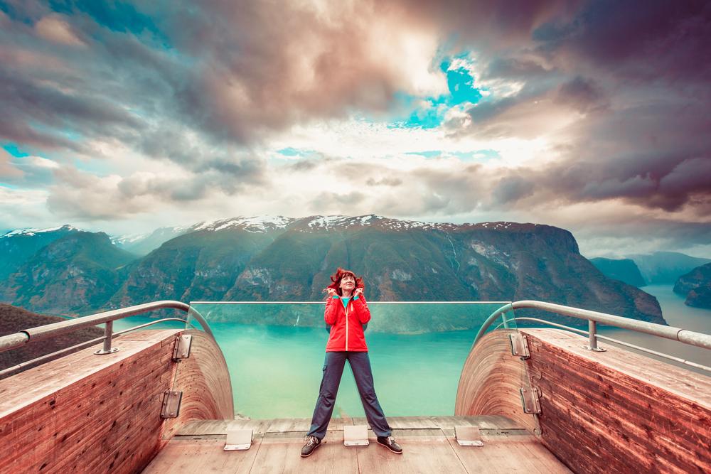 В Норвегии запустили «Лифт в небо»
