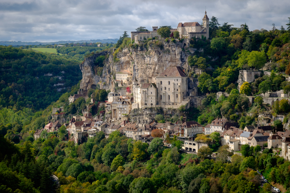 Рокамадур – потрясающая вертикальная деревня во Франции