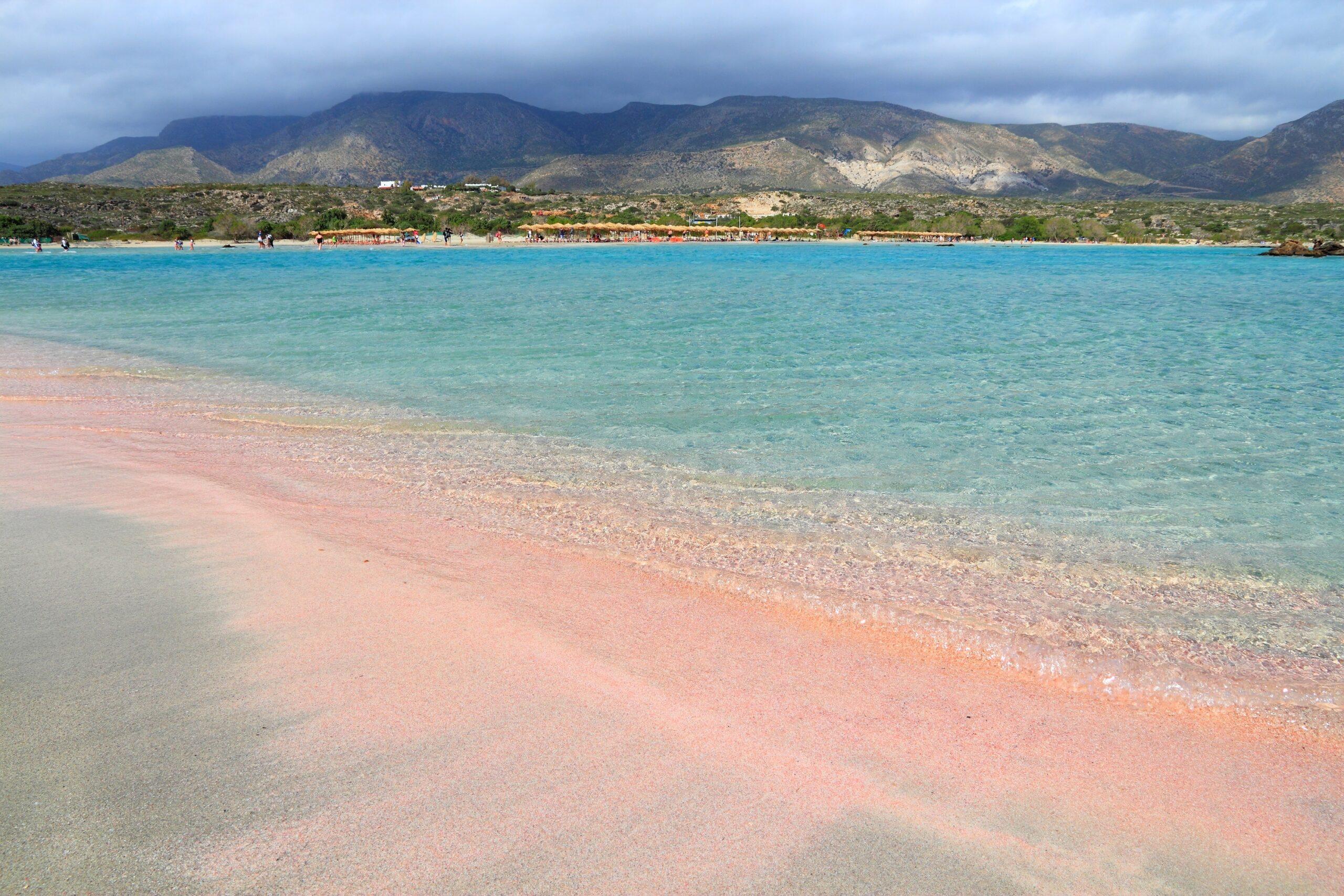 Как в сказке: потрясающие розовые пляжи мира.Вокруг Света. Украина