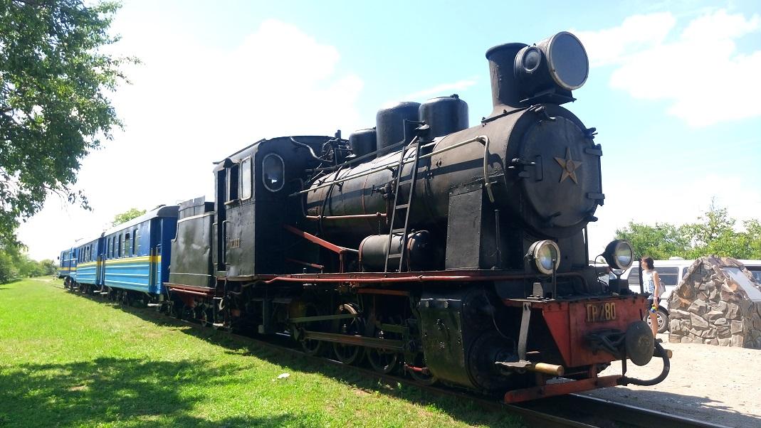 В Украине запустили первый в истории туристический поезд