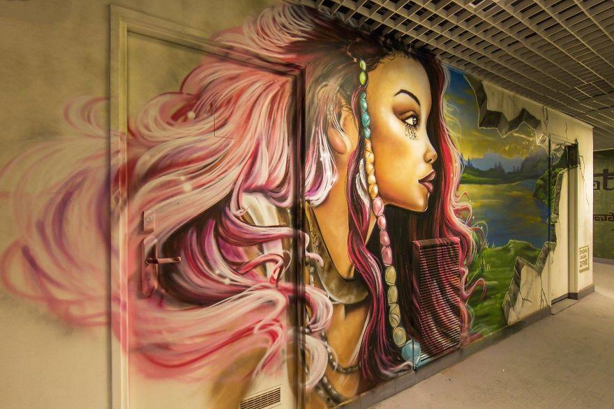 Университетский городок Парижа заказал граффити вместо ремонта