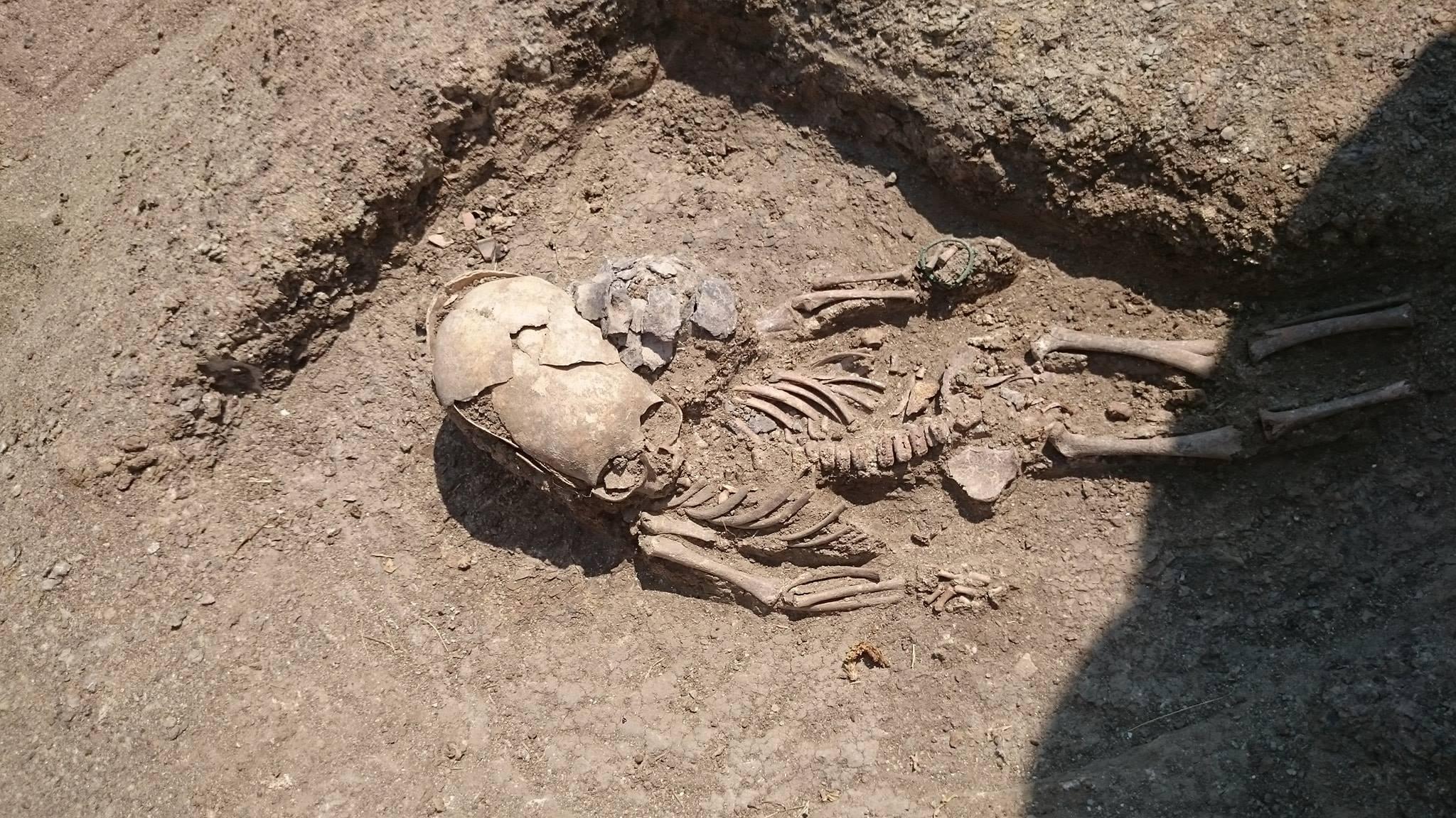 В Крыму археологи обнаружили захоронение