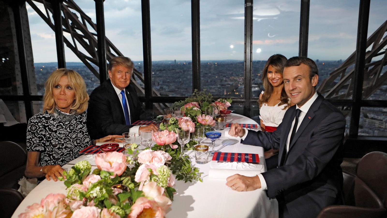 День взятия Бастилии Макрон и Трамп проведут вместе