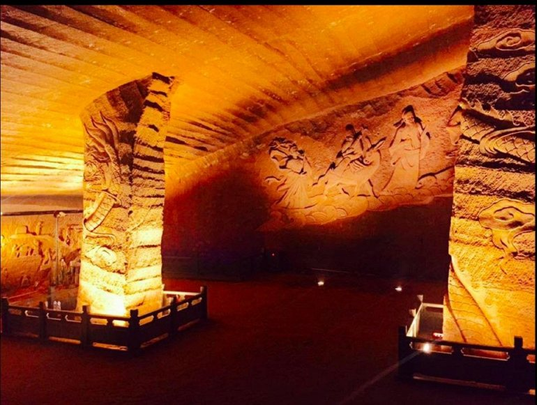 Нераскрытые тайны пещеры Лунъю