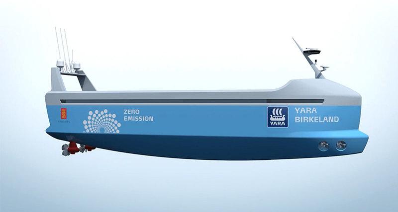 В Норвежском море появятся беспилотные корабли