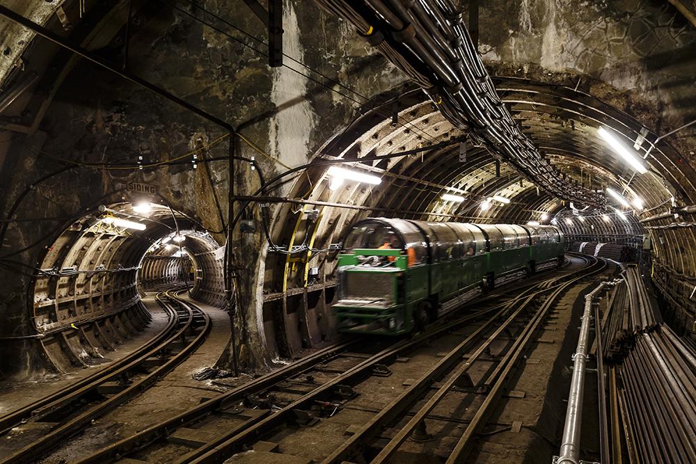В подземные лабиринты Лондона пустили туристов