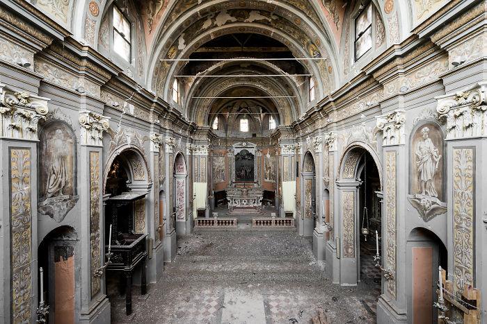 Исчезающая красота: фото заброшенных замков Италии